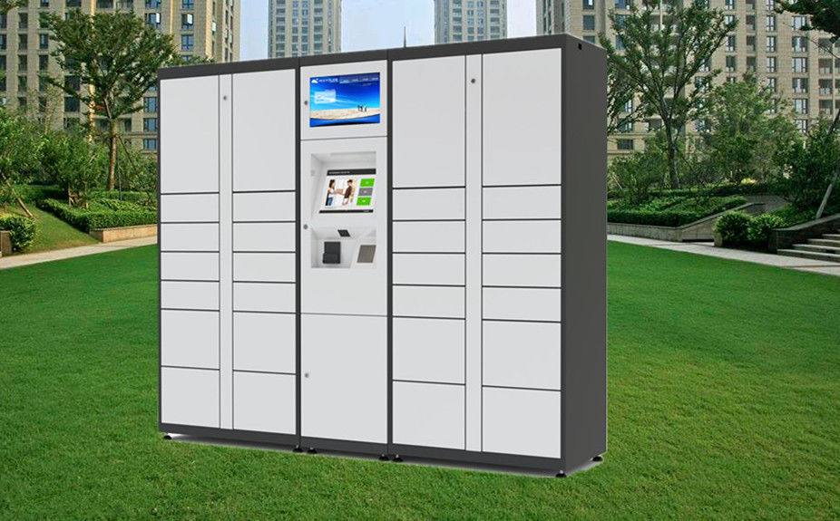 Parcel Package Delivery Locker Intelligent Lockers with Barcode Reader for Public Express
