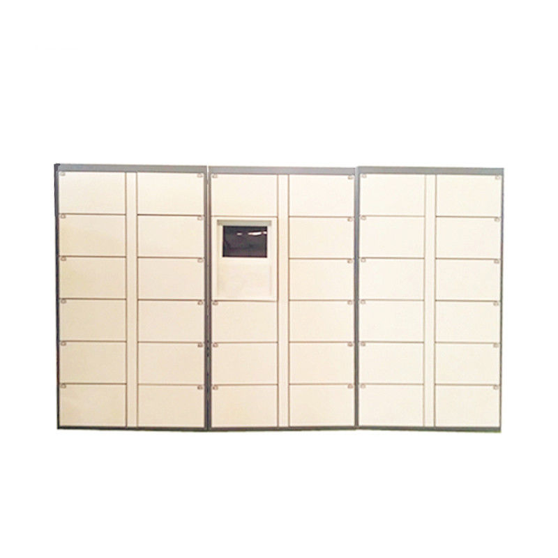 Automated Logistics Parcel Delivery Lockers Luggage Parcel Locker For Community Company School