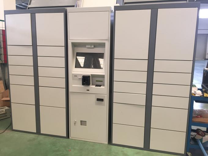 L armadio elettronico della lavanderia con le multi lingue e la